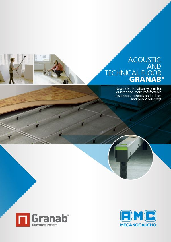 Acoustic and Technical Floor Granab