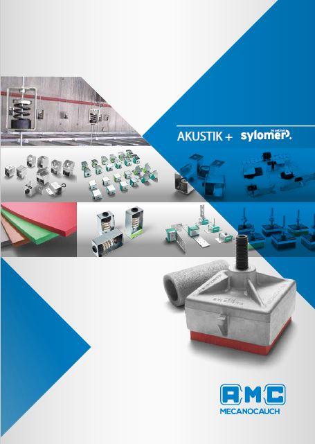 Akustik+Sylomer suspension and ceiling mounts