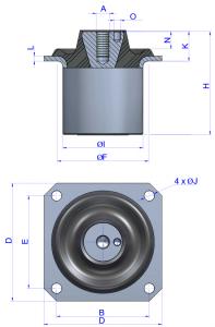 hydraulic-cone-mounts-drawing