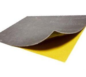 Acoustic Visco-elastic Layers